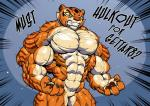 abs anthro biceps feline female growth hulkout hyper hyper_muscles kung_fu_panda mammal master_tigress muscle_growth muscular pecs solo teeth tiger vein  Rating: Safe Score: 8 User: SunnyStones Date: April 05, 2016