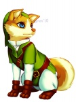 2010 ambiguous_gender belt blue_eyes brown_nose canine clothed clothing digital_media_(artwork) dog falvie feral footwear fully_clothed hat link mammal nintendo pants shoes solo the_legend_of_zelda tunic video_games  Rating: Safe Score: 52 User: slyroon Date: February 11, 2012