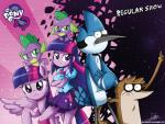 2014 anthro avian bird bow_tie canine cartoon_network clothing collar crossed_arms dog dragon equestria_girls equine fangs female friendship_is_magic green_eyes group hair horn human looking_at_viewer male mammal mordecai_(regular_show) multicolored_hair my_little_pony purple_hair raccoon regular_show rigby_(regular_show) shatter skirt spike_(eg) spike_(mlp) spiked_collar standing the-butch-x twilight_sparkle_(eg) twilight_sparkle_(mlp) winged_unicorn wings   Rating: Safe  Score: 12  User: 2DUK  Date: June 17, 2014