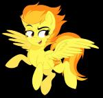 alpha_channel cutie_mark equine female feral friendship_is_magic fur hair mammal my_little_pony pegasus plain_background possumfacee solo spitfire_(mlp) thepossumface transparent_background two_tone_hair wings wonderbolts_(mlp)   Rating: Safe  Score: 5  User: Velfy  Date: February 01, 2015