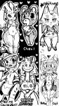 <3 animal_crossing anthro bear blush breasts canine cleavage clothed clothing dragon english_text female lagomorph lopunny machine mammal mechanical miiverse monochrome nintendo pokémon rabbit robot text video_games whitney_(animal_crossing) wide_hips wolf   Rating: Questionable  Score: 2  User: Juni221  Date: February 09, 2014