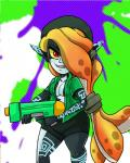 cephalopod clothed clothing crossover cute female imp looking_at_viewer marine midna nintendo parody ranged_weapon red_eyes smile solo splatoon squid tentacles the_legend_of_zelda theeyzmaster twili twilight_princess video_games weapon  Rating: Safe Score: 5 User: DeltaFlame Date: July 06, 2015
