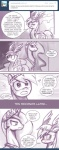 ask_princess_molestia blush comic dialog duo equine female feral friendship_is_magic hair horn john_joseco lesbian long_hair mammal monochrome my_little_pony open_mouth pegasus princess_celestia_(mlp) rainbow_dash_(mlp) text tiara tumblr winged_unicorn wings   Rating: Safe  Score: 19  User: Dogenzaka  Date: October 16, 2011