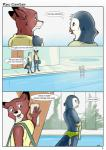 2015 ambiguous_gender avian bird blue_feathers canine comic dialogue duo feathers fox mammal pool_(disambiguation) tuke  Rating: Safe Score: 0 User: slyroon Date: July 29, 2015