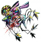 ambiguous_gender azelf blood death gore horror kyounoikenie legendary_pokémon mesprit nintendo plain_background pokémon psychedelic scary sprites uxie video_games white_background   Rating: Explicit  Score: 0  User: robyn_chaos  Date: August 09, 2010
