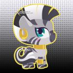 chibi cute ear_piercing equine female friendship_is_magic happy low_res mammal miss-glitter_(artist) my_little_pony piercing smile solo zebra zecora_(mlp)  Rating: Safe Score: 7 User: SwiperTheFox Date: October 20, 2015