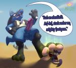 3_toes <3 absurd_res anthro anthro_on_anthro balls barefoot blue_balls canine clothed clothing collar cum cum_on_penis dialogue english_text erection fan_character fangs feet foot_fetish fur hi_res humanoid_penis jewelry licking long_ears looking_down lucario male male/male mammal micro necklace nintendo nude outside pawpads paws penis pokémon pokémon_(species) rad-lizer rattata red_eyes rodent scar sharp_teeth shirt size_difference smelly smelly_feet smile spikes standing sweat teeth text toes tongue tongue_out video_games whiskersRating: ExplicitScore: 0User: BuzzardlordDate: March 22, 2018
