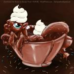 chocolate chocolate_sauce equine female food food_fetish friendship_is_magic horn mammal my_little_pony princess_luna_(mlp) sauce smudge_proof solo sprinkles whipped_cream winged_unicorn wings   Rating: Safe  Score: 5  User: Smudge_Proof  Date: April 30, 2014