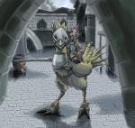 anthro armor avian bird burmecian chocobo city claws clothed clothing coat detailed detailed_background duo feathers female final_fantasy final_fantasy_ix freya_crescent hair helmet lance looking_at_viewer mammal melee_weapon rat ribbons riding rodent ryuujin-0_(artist) video_games weapon white_hair wings  Rating: Safe Score: 7 User: random_person Date: September 20, 2015