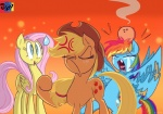 2015 angry applejack_(mlp) blonde_hair blue_eyes cowboy_hat cutie_mark equine eyes_closed fangs female fluttershy_(mlp) freckles friendship_is_magic group hair hat horse jowybean lump mammal my_little_pony nervous pegasus pony rainbow_dash_(mlp) sweat tears wings   Rating: Safe  Score: 8  User: 2DUK  Date: April 11, 2015