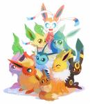 2014 absurd_res ambiguous_gender black_fur blue_eyes blue_fur blush brown_eyes brown_fur canine cuteskitty eevee eeveelution espeon eyes_closed feral flareon fur glaceon group hi_res jolteon leafeon looking_at_viewer mammal nintendo open_mouth orange_eyes orange_fur pink_fur plain_background pokémon purple_eyes smile sylveon tan_fur teeth tongue tuft umbreon vaporeon video_games white_fur yellow_fur   Rating: Safe  Score: 4  User: DeltaFlame  Date: February 14, 2015