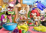 <3 amy_rose anthro bat bikini breasts canine child cleavage clothed clothing cookie cream_the_rabbit daughter espio_the_chameleon female food fox group hedgehog knuckles_the_echidna lagomorph mammal mature_female miles_prower mother parent praiz rabbit rouge_the_bat skimpy sonic_(series) sonic_the_hedgehog swimsuit tight_clothing vanilla_the_rabbit vector_the_crocodile young  Rating: Questionable Score: 10 User: Kitsu~ Date: March 18, 2011