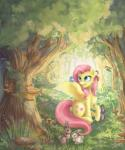 2015 absurd_res avian bird cutie_mark equine female feral fluttershy_(mlp) forest friendship_is_magic fur hair hi_res katyand lagomorph mammal my_little_pony pegasus pink_hair rabbit rodent smile spread_wings squirrel teal_eyes tree wings yellow_fur   Rating: Safe  Score: 8  User: ultragamer89  Date: May 17, 2015