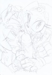 amy_rose anthro daigaijin duo_focus echidna female fur greyscale group group_sex hedgehog interspecies male mammal monochrome monotreme pencil_(artwork) sex sketch sonic_(series) threesome tikal_the_echidna traditional_media_(artwork)   Rating: Explicit  Score: 5  User: Butterbutts  Date: November 22, 2014
