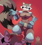 2015 alien anthro blood breasts captain_sale clothing eye_patch eyewear female gloves groot guardians_of_the_galaxy male mammal orange_eyes raccoon rocket_raccoon sssonic2 sweat white_eyes wide_hips  Rating: Safe Score: 11 User: Robinebra Date: May 13, 2015""