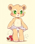 bow cat clothing cub feline female flat_chested huiro lion mammal panties solo underwear young   Rating: Questionable  Score: 16  User: whowho  Date: August 01, 2013