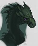 ambiguous_gender dragon fangs horn shade-shypervert solo  Rating: Safe Score: 2 User: Adken Date: July 29, 2015