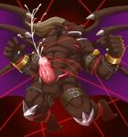 abs balls bdsm belphemon bondage bound colored demon digimon erection male muscular nude orgasm penis solo urakata5x wings  Rating: Explicit Score: 12 User: drafan5 Date: August 18, 2015
