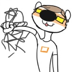 animated anthro artist blush creating_art drawing eyewear glasses male mammal mustelid ritts simple_background solo star steam weasel what white_background  Rating: Safe Score: 1 User: ErosThanatos Date: February 03, 2013