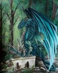 ambiguous_gender claws day detailed_background digital_media_(artwork) dragon feral horn krisbuzy membranous_wings outside scalie solo spines western_dragon wingsRating: SafeScore: 5User: MillcoreDate: March 18, 2018