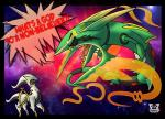 2014 ambiguous_gender angry arceus black_sclera black_skin claws dialogue duo english_text feral green_sclera green_skin grey_skin hi_res humor legendary_pokémon mega_evolution mega_rayquaza nintendo nude open_mouth pokémon rayquaza red_eyes red_skin size_difference space speech_bubble teeth text tongue valery91thunder video_games white_skin yellow_skin  Rating: Safe Score: 3 User: GameManiac Date: July 31, 2015