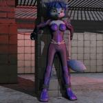 3d anthro bdsm bodysuit bondage bound canine clothing female fursat krystal mammal nintendo skinsuit solo star_fox video_games   Rating: Safe  Score: 3  User: Cαnε751  Date: August 04, 2014