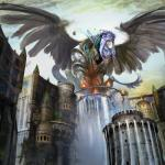 anthro armor banner city cityscape detailed_background digital_media_(artwork) eyes_closed feathered_wings feathers female hi_res isperia low-angle_view macro magic_the_gathering official_art scott_m._fischer solo sphinx spread_wings water waterfall wingsRating: SafeScore: 2User: BooruHitomiDate: April 27, 2018