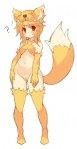 2017 animal_humanoid blonde_hair blush bottomless canine clothed clothing female fox fox_humanoid fur hair humanoid looking_at_viewer mammal moonlight_flower pussy ragnarok_online red_eyes simple_background solo standing tsuderou video_games white_background yellow_furRating: ExplicitScore: 2User: GranberiaDate: May 27, 2017