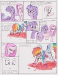 blood blue_fur chaostone comic crying cub cutie_mark dialog english_text equine female feral friendship_is_magic fur hair horn horse inside long_hair looking_at_viewer mammal multi-colored_hair my_little_pony open_mouth pink_fur pink_hair pinkamena_(mlp) pinkie_pie_(mlp) plain_background pony purple_eyes purple_fur purple_hair rainbow_dash_(mlp) rainbow_hair red_eyes shocked sweetie_belle_(mlp) tears text tongue twilight_sparkle_(mlp) two_tone_hair undead unicorn white_fur wings young zombie   Rating: Questionable  Score: 1  User: Deatron  Date: September 04, 2013
