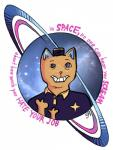 burgerpants cat clothing english_text feline hi_res mammal outertale smile solo space star text undertale video_games  Rating: Safe Score: 7 User: General_Oblitus Date: January 17, 2016