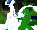 animated blush conditional_dnp duo eyes_closed female feral from_behind_position grovyle legendary_pokémon low_res lugia male male/female nintendo oze pokémon sex video_gamesRating: ExplicitScore: 10User: jokufurfagDate: March 18, 2017