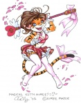 <3 aimee aimee_major breasts cardcaptor_sakura cleavage clothed clothing feline female gloves legwear mammal melee_weapon polearm ribbons skirt solo staff stockings tiger weapon  Rating: Safe Score: 0 User: Kald Date: December 16, 2009