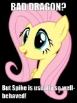 bad_dragon black_background english_text equine female fluttershy_(mlp) friendship_is_magic fur hair image_macro mammal meme my_little_pony pegasus pink_hair plain_background reaction_image solo text wings yellow_fur   Rating: Safe  Score: 26  User: Ciderlove  Date: July 04, 2014