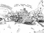 2014 burning cannon feline female german laya_eaterik leopard line_art mammal nazi panzerschreckleopard russian shading snow_leopard solo soviet tank world_war_2   Rating: Safe  Score: -2  User: PanzerschreckLeopard  Date: December 09, 2014