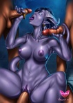 balls blue_hair breasts draenei erection female glowing glowing_eyes group group_sex hair handjob horn human male mammal nipples nude penetration penis pointy_ears purple_skin pussy sex spread_legs spreading tail_sex tailjob tongue tongue_out vaginal vaginal_penetration video_games vincentcc warcraft   Rating: Explicit  Score: 2  User: Pasiphaë  Date: May 06, 2015