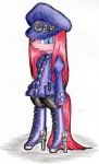 2014 blue_eyes clothed clothing conbudou earth_pony equine female friendship_is_magic fur hair horse looking_at_viewer mammal my_little_pony pink_fur pink_hair pink_tail pinkamena_(mlp) pinkie_pie_(mlp) plain_background pony solo steampunk traditional_media_(artwork)   Rating: Safe  Score: 4  User: LoneyBit  Date: April 20, 2015
