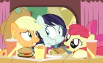 2015 apple_bloom_(mlp) applejack_(mlp) coloratura_(mlp) cub dm29 eating equine female food friendship_is_magic group hat horse mammal my_little_pony pony wide_eyed young  Rating: Safe Score: 4 User: 2DUK Date: November 26, 2015