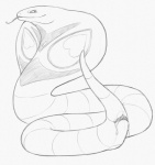 2015 anatomically_correct animal_genitalia arbok cloaca dripping female feral forked_tongue monochrome nintendo pencil_(artwork) pokémon pussy_juice reptile scalie simple_background sketch smile snake solo tongue tongue_out traditional_media_(artwork) video_games white_background yaroul  Rating: Explicit Score: 15 User: TheGreatWolfgang Date: October 04, 2015
