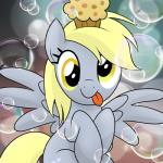 bubble cute derpy_hooves_(mlp) drawponies equine female food friendship_is_magic mammal muffin my_little_pony pegasus solo tongue wings   Rating: Safe  Score: 15  User: Lunaz  Date: March 24, 2014