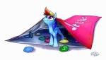 2016 candy equine female feral food friendship_is_magic mammal micro my_little_pony pegasus rainbow_dash_(mlp) simple_background skittles small solo tsitra360 white_background wings  Rating: Safe Score: 8 User: 2DUK Date: May 05, 2016