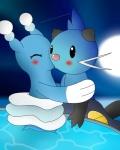 ambiguous_gender blue_body blush brionne cute darkrexs dewott duo female feral fsc-shiningfast hug kissing mammal marine moon nintendo pinniped pokémon star surprise video_games water winick-limRating: SafeScore: 3User: CloverTheRabbitDate: March 14, 2017