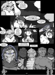 anthro big_breasts breasts canine cat chest_tuft comic dialogue digimon feline female fox fur group jenny_(yawg) legend_of_jenny_and_renamon lizard male mammal monochrome renamon reptile scalie text tuft yawg  Rating: Safe Score: 5 User: xXK1T5UN3Xx Date: November 02, 2012
