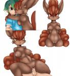 anthro anthrofied blush breasts canine female fox human human_on_anthro interspecies male male/female mammal multiple_tails nintendo open_mouth penetration pokémon poképhilia pussy san_ruishin sex smile tongue vaginal video_games vulpix  Rating: Explicit Score: 23 User: voldosbt Date: September 20, 2015