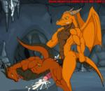 2009 balls bdsm bondage bound brown_eyes cave cum cum_inside dark-moltres dragon duo male male/male penis scalie yellow_eyes  Rating: Explicit Score: 5 User: Untamed Date: September 23, 2015