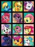 2015 apple_bloom_(mlp) applejack_(mlp) dragon earth_pony equine female feral fluttershy_(mlp) friendship_is_magic group horn horse karol_pawlinski male mammal multiple_images my_little_pony pegasus pinkie_pie_(mlp) pony princess_celestia_(mlp) princess_luna_(mlp) rainbow_dash_(mlp) rarity_(mlp) scalie scootaloo_(mlp) spike_(mlp) sweetie_belle_(mlp) twilight_sparkle_(mlp) unicorn winged_unicorn wings   Rating: Safe  Score: 16  User: Robinebra  Date: February 07, 2015