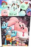 ? alien anais_watterson anthro blue_fur blue_hair boo_(mario) bow cat clothing darwin_watterson fangs feline female fur ghost group gumball_watterson hair hat kirby kirby_(series) lady_bow lagomorph lahla mammal marine mario mario_bros nicole_watterson nintendo open_mouth paper_mario peeka pink_fur rabbit richard_watterson smile spirit standing sunibee teeth the_amazing_world_of_gumball tongue video_games  Rating: Safe Score: 15 User: Brennertank Date: May 09, 2014