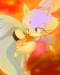 blaze_the_cat blush cat crying feline female fire fur grey_fur hedgehog kiipuonranningu male mammal orange_eyes ponytail purple_fur sega silver_the_hedgehog sonic_(series) yellow_eyes   Rating: Safe  Score: 2  User: Test-Subject_217601  Date: May 01, 2013