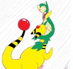 ampharos clothing collaboration cunnilingus duo echothewolf erection female feral male male/female moan nintendo open_mouth oral pokémon pussy servine sex shikaro simple_background tongue vaginal video_games white_background yellow_skin  Rating: Explicit Score: 6 User: Echothewolf Date: September 28, 2015