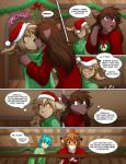 2014 :3 ahoe anthro antlers basitin big_ears black_fur black_stripes blue_eyes blue_hair blush bottomless brown_fur brown_hair brown_nose canine christmas claws clothed clothing comic couple cute dialogue doorway duo ears_down embarrassed english_text feline female flora_(twokinds) fur group hair half-dressed hat heterochromia holidays horn human humor hybrid inside keidran keith_keiser kissing lagomorph male mammal mistletoe natani open_mouth orange_fur plant red_ribbon ribbons romantic santa_hat scar ship smile snowman speech_bubble spying standing stripes surprise sweat sweater tan_fur text tiger tom_fischbach trace_legacy twokinds webcomic white_fur wolf wreath yellow_eyes   Rating: Safe  Score: 35  User: Ridentem2  Date: December 25, 2014