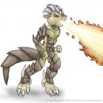 dragon fire male nude open_mouth plain_background scales smudge_proof solo standing tongue white_background yellow_eyes   Rating: Safe  Score: 2  User: Smudge_Proof  Date: August 27, 2014